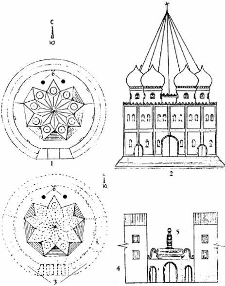 Рис. Схема, план Капища Инглии.