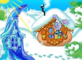 Сказка «Лиса и Заяц» (про избушку ледяную и лубяную)